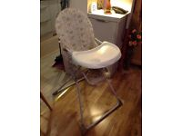 Baby's High Chair in Excellent Condition