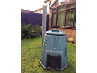 For sale green compost bin