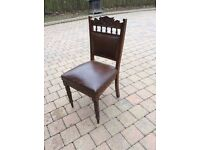 REDUCED FOR SHORT TIME 6 x Antique Dining Chairs