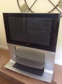 Panasonic TV & Stand.