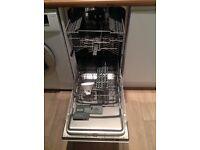 Belling IWD450 Slimline integrated dishwasher
