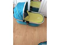 Icandy peach Sweetpea main carrycot