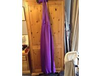 Ball gown dress size 12. Small fit.
