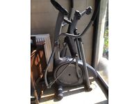 Cross Trainer. Horizon Fitness Andes 150. Folds up for easy storage when not in use. Good condition