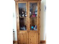 Ducal Pine Display Cabinet