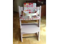 Stokke Tripp Trapp complete with cushion