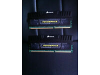Corsair CMZ16GX3M2A1600C9 Vengeance 16GB (2x8GB) DDR3 1600 Mhz CL9 XMP Performance Kit Black