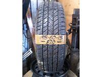 195-60-15 Bridgestone Potenza Re88 88H 6mm Part Worn Tyre