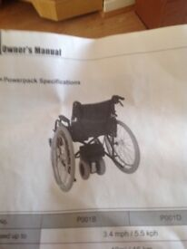 Battery for wheelchair