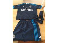 Real Madrid football kit