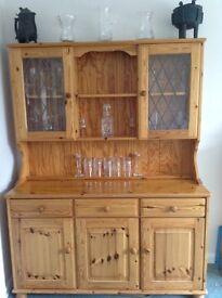 Pine Welsh Dresser in ex condition