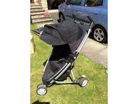 Quinny Zapp Xtra, lightweight stroller.