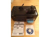HP Deskjet all in one wireless printer and scanner with FREE colour ink cartridge