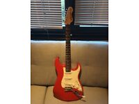 Vintage V6 Icon Strat with Wilkinson hardware good condition, used for sale  Golders Green, London
