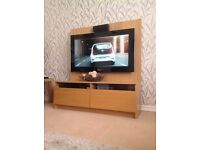 Light Oak TV stand