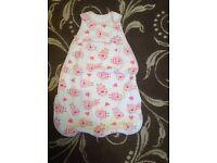 Baby girl sleeping bag