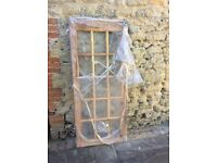 Softwood 15 pane Shed Door - Unglazed 70x30 inches