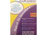 Multiview TV Aerial and Satellite Services