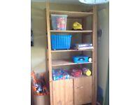 Adjustable shelving unit & cupboard