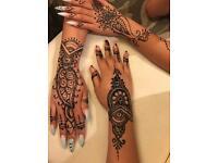 Henna tattoos in Mansfield!