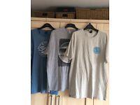 Three men's Saltrock tshirts in size XXL