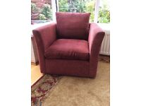 2 x John Lewis armchairs