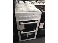 Flavel white 50cm gas cooker. £230 new/graded 12 month Gtee