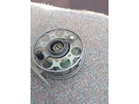 Mercury centre pin fishing reel