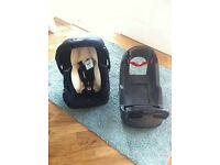 Mothercare car seat and Isofix base