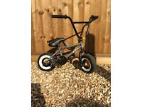 ROCKER 2 MINI BMX (24 CARAT) with stunt pegs