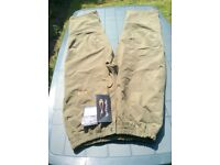 Brand New!!! Mens T F Gear Banshee waterproof over-trousers. Size:- XXL