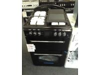 Leisure classic double oven. Black gas. £349 RRP £549 new/graded 12 month Gtee