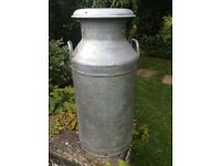 Milk Churns - FOR HIRE - Aluminium 10 gallon