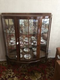 Vintage China Display Cabinet