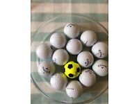 X14 Callaway golf balls used, good condition
