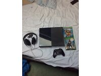 Xbox one 500GB with Two games and official stereo headset