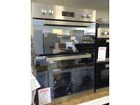 Beko 90cm built in double oven. £240 new/graded 12 month Gtee