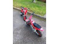 X2 mini motos , SWAPS OR CASH OFFERS