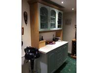 Welsh dresser kitchen storage cupboard