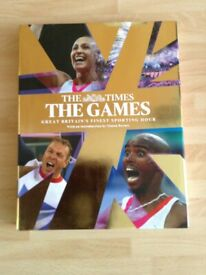 The Times - The Games Great Britain's Finest Sporting Hour Hardback Book - Olympic Games 2012