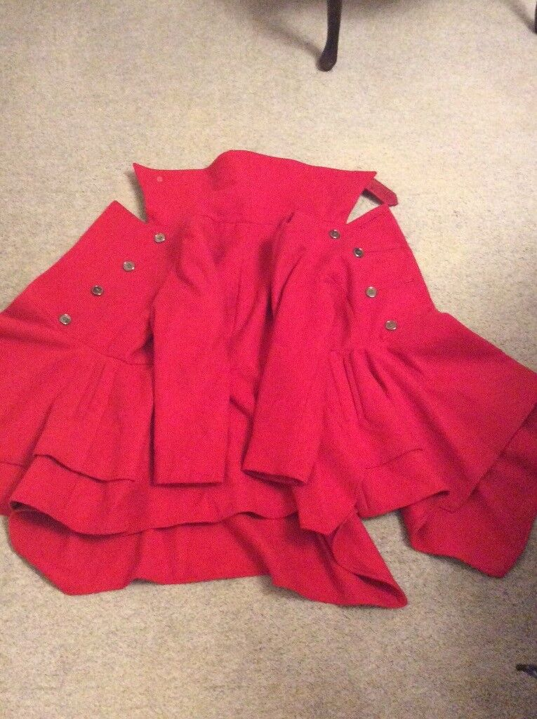 Girl's red coat from Next