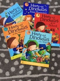 Harry and the Dinosaurs books x 5