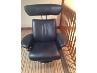 Ekornes Jazz medium stressless chair with stool