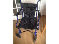 Elite Care Lightweight Folding Travel a Wheelchair
