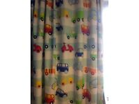 Children's curtains, bedding, lampshade