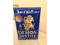 Demon Dentist paperback by David Walliams brand new copy