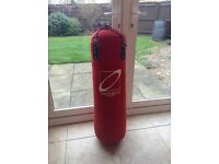 3 foot Punch bag with hanging brackets