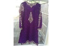 Beautiful Purple wedding Clothes