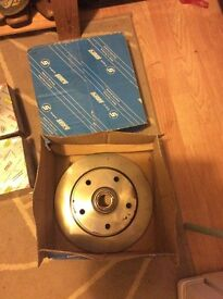 VW late model beetle brake disc and callipers