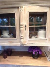 Old pine French country dresser